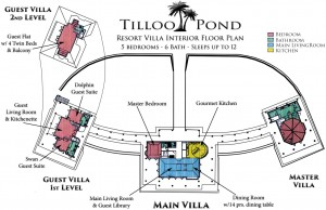 Villa Layout at Tilloo Pond