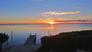 A stunning sunset over the Sea of Abaco