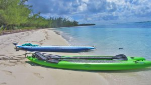 Tilloo bank beach paddle board trip takes 5 minutes