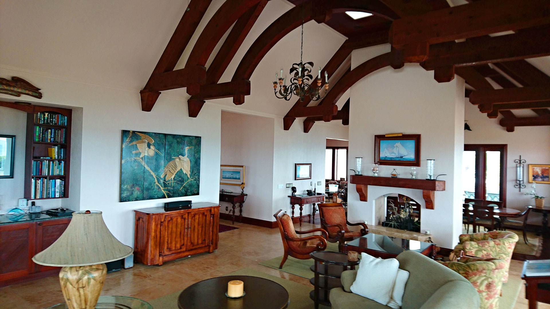 Main Villa - Living Room