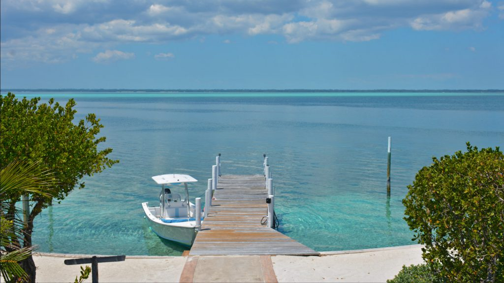 front sea of abaco dock